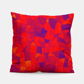 Thumbnail image of Geometric Shapes Fragments Pattern 2 bry Pillow, Live Heroes