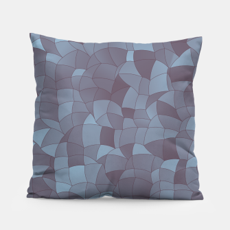 Thumbnail image of Geometric Shapes Fragments Pattern 2 bgr Pillow, Live Heroes