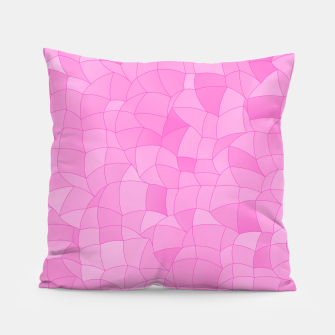 Thumbnail image of Geometric Shapes Fragments Pattern 2 mag2 Pillow, Live Heroes