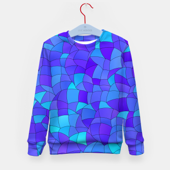 Thumbnail image of Geometric Shapes Fragments Pattern 2 std Kid's sweater, Live Heroes