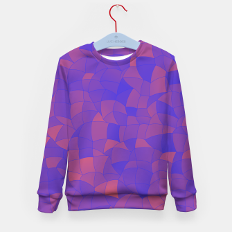 Thumbnail image of Geometric Shapes Fragments Pattern 2 pp2 Kid's sweater, Live Heroes