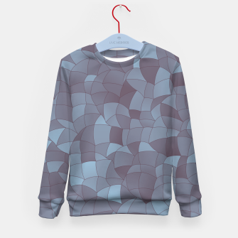 Thumbnail image of Geometric Shapes Fragments Pattern 2 bgr Kid's sweater, Live Heroes