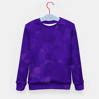 Thumbnail image of Geometric Shapes Fragments Pattern 2 dp Kid's sweater, Live Heroes