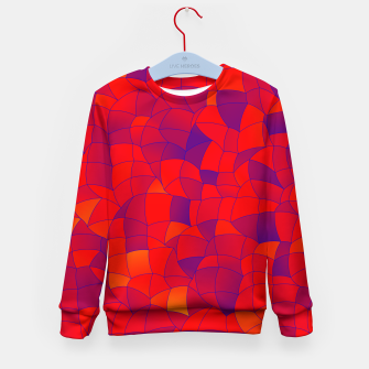 Thumbnail image of Geometric Shapes Fragments Pattern 2 bry Kid's sweater, Live Heroes