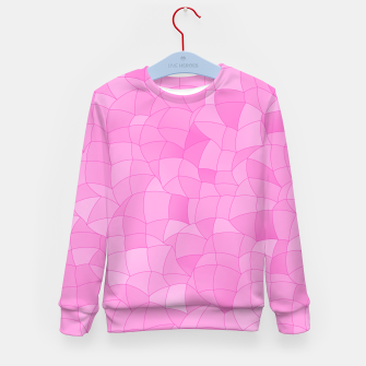 Thumbnail image of Geometric Shapes Fragments Pattern 2 mag2 Kid's sweater, Live Heroes