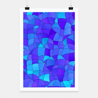 Thumbnail image of Geometric Shapes Fragments Pattern 2 std Poster, Live Heroes