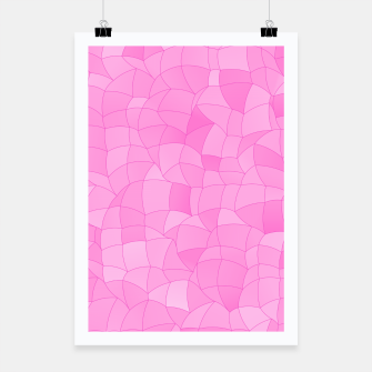 Thumbnail image of Geometric Shapes Fragments Pattern 2 mag2 Poster, Live Heroes