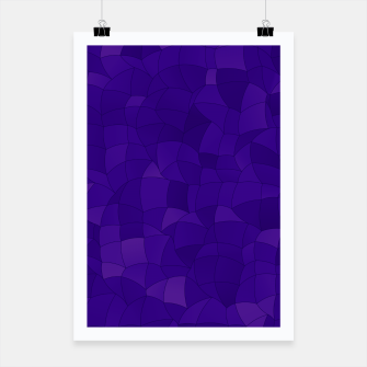 Thumbnail image of Geometric Shapes Fragments Pattern 2 dp Poster, Live Heroes