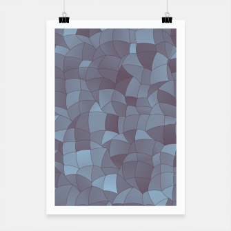 Thumbnail image of Geometric Shapes Fragments Pattern 2 bgr Poster, Live Heroes