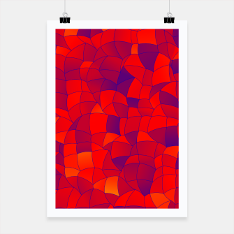 Thumbnail image of Geometric Shapes Fragments Pattern 2 bry Poster, Live Heroes