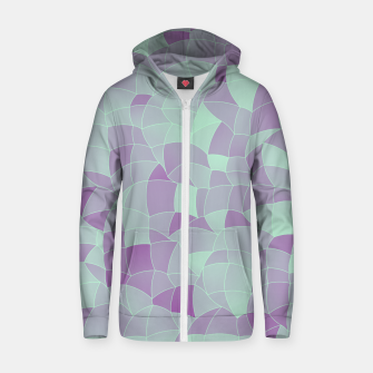 Thumbnail image of Geometric Shapes Fragments Pattern 2 tq2 Zip up hoodie, Live Heroes