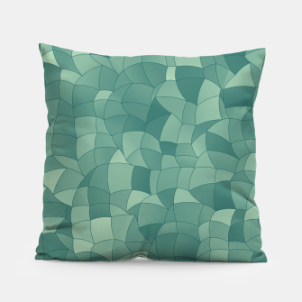Thumbnail image of Geometric Shapes Fragments Pattern 2 gr Pillow, Live Heroes