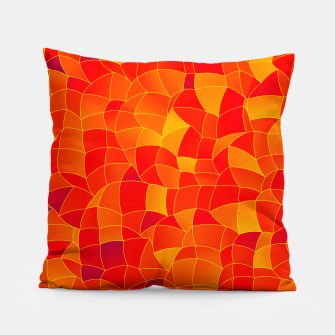 Thumbnail image of Geometric Shapes Fragments Pattern 2 bryi Pillow, Live Heroes