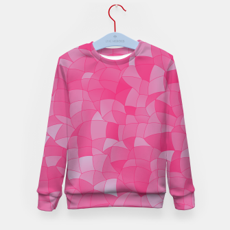 Thumbnail image of Geometric Shapes Fragments Pattern 2 ppb2 Kid's sweater, Live Heroes