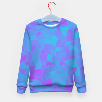 Thumbnail image of Geometric Shapes Fragments Pattern 2 tqp Kid's sweater, Live Heroes