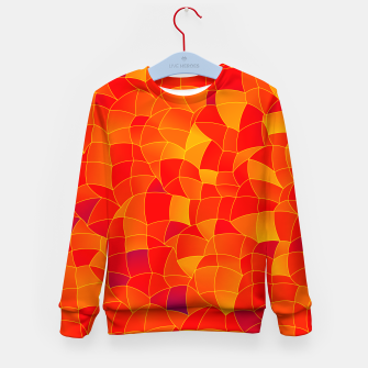 Thumbnail image of Geometric Shapes Fragments Pattern 2 bryi Kid's sweater, Live Heroes