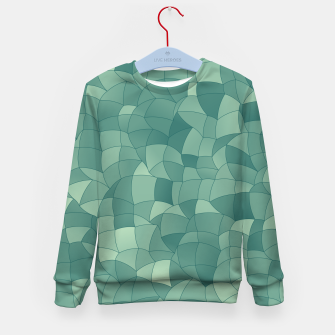 Thumbnail image of Geometric Shapes Fragments Pattern 2 gr Kid's sweater, Live Heroes