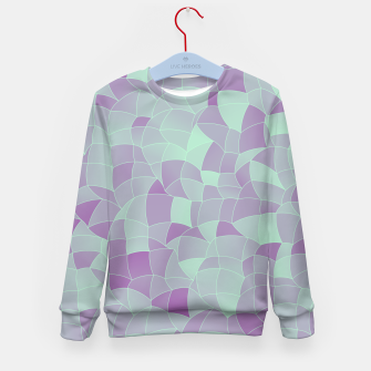 Thumbnail image of Geometric Shapes Fragments Pattern 2 tq2 Kid's sweater, Live Heroes