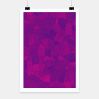 Thumbnail image of Geometric Shapes Fragments Pattern 2 mag3i Poster, Live Heroes