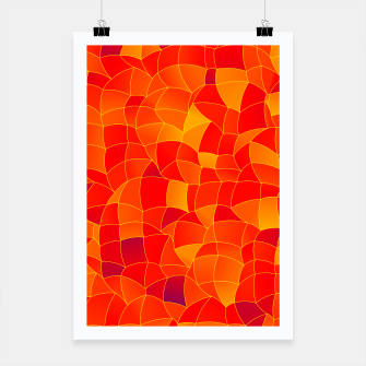 Thumbnail image of Geometric Shapes Fragments Pattern 2 bryi Poster, Live Heroes