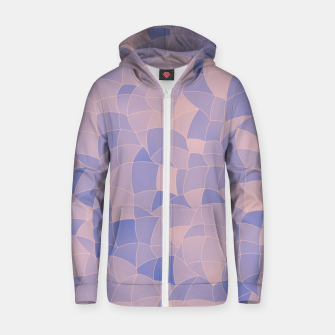 Thumbnail image of Geometric Shapes Fragments Pattern 2 ppb Zip up hoodie, Live Heroes