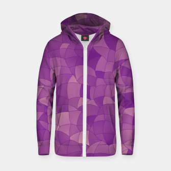 Thumbnail image of Geometric Shapes Fragments Pattern 2 pu Zip up hoodie, Live Heroes