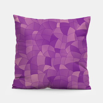 Thumbnail image of Geometric Shapes Fragments Pattern 2 pu Pillow, Live Heroes