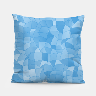 Thumbnail image of Geometric Shapes Fragments Pattern 2 wb Pillow, Live Heroes