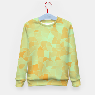 Thumbnail image of Geometric Shapes Fragments Pattern 2 ow Kid's sweater, Live Heroes