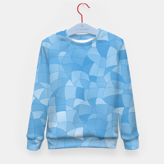 Thumbnail image of Geometric Shapes Fragments Pattern 2 wb Kid's sweater, Live Heroes