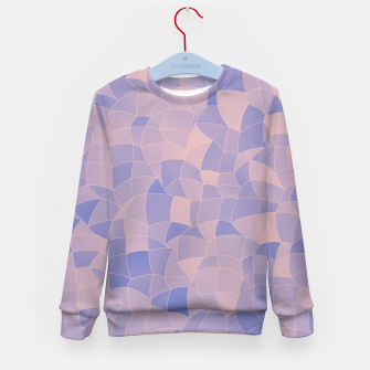 Thumbnail image of Geometric Shapes Fragments Pattern 2 ppb Kid's sweater, Live Heroes