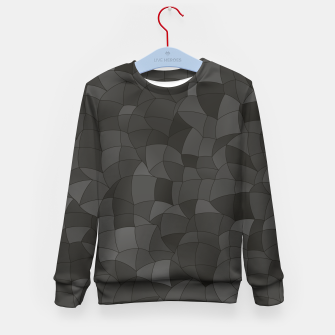 Thumbnail image of Geometric Shapes Fragments Pattern 2 gw Kid's sweater, Live Heroes