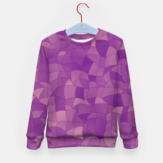 Thumbnail image of Geometric Shapes Fragments Pattern 2 pu Kid's sweater, Live Heroes