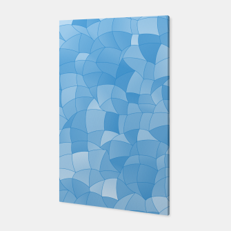 Thumbnail image of Geometric Shapes Fragments Pattern 2 wb Canvas, Live Heroes
