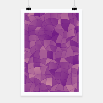 Thumbnail image of Geometric Shapes Fragments Pattern 2 pu Poster, Live Heroes