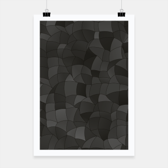 Thumbnail image of Geometric Shapes Fragments Pattern 2 gw Poster, Live Heroes