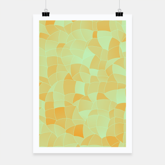 Thumbnail image of Geometric Shapes Fragments Pattern 2 ow Poster, Live Heroes