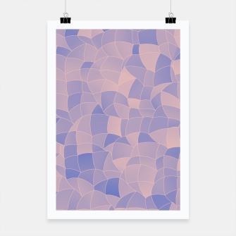 Thumbnail image of Geometric Shapes Fragments Pattern 2 ppb Poster, Live Heroes