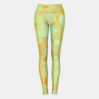 Miniatur Geometric Shapes Fragments Pattern 2 ow Leggings, Live Heroes