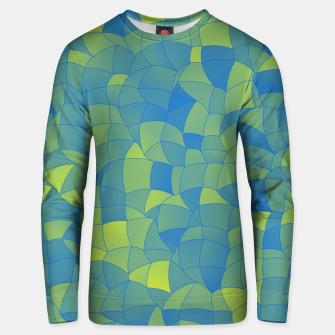 Thumbnail image of Geometric Shapes Fragments Pattern 2 by Unisex sweater, Live Heroes