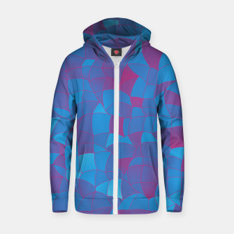 Thumbnail image of Geometric Shapes Fragments Pattern 2 pb Zip up hoodie, Live Heroes