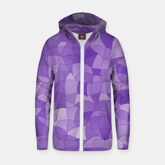 Thumbnail image of Geometric Shapes Fragments Pattern 2 pu2 Zip up hoodie, Live Heroes