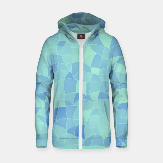 Thumbnail image of Geometric Shapes Fragments Pattern 2 ib Zip up hoodie, Live Heroes