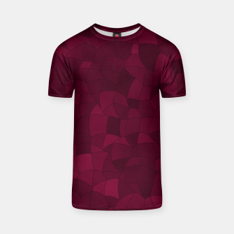 Thumbnail image of Geometric Shapes Fragments Pattern 2 wr T-shirt, Live Heroes