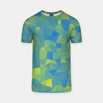 Thumbnail image of Geometric Shapes Fragments Pattern 2 by T-shirt, Live Heroes