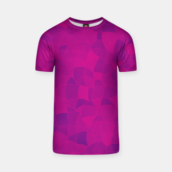 Thumbnail image of Geometric Shapes Fragments Pattern 2 mag3 T-shirt, Live Heroes