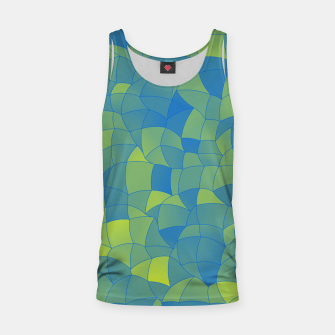 Thumbnail image of Geometric Shapes Fragments Pattern 2 by Tank Top, Live Heroes