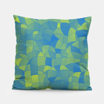 Thumbnail image of Geometric Shapes Fragments Pattern 2 by Pillow, Live Heroes