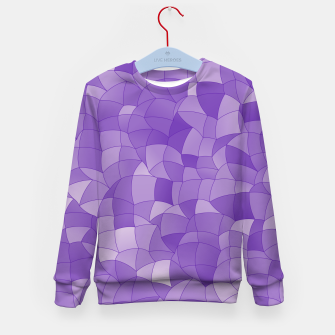 Thumbnail image of Geometric Shapes Fragments Pattern 2 pu2 Kid's sweater, Live Heroes