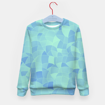 Thumbnail image of Geometric Shapes Fragments Pattern 2 ib Kid's sweater, Live Heroes